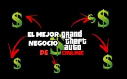 MEJOR FORMA DE GANAR DINERO EN GTAV ONLINE | MEJOR NEGOCIO DE GTAV