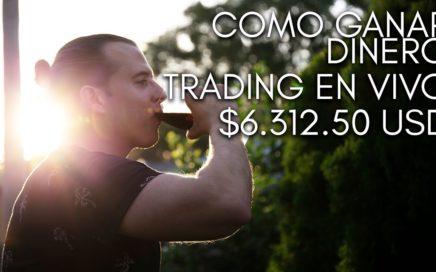 Mejor Forma de hacer dinero/ganar dinero - Trading $6312.50 USD