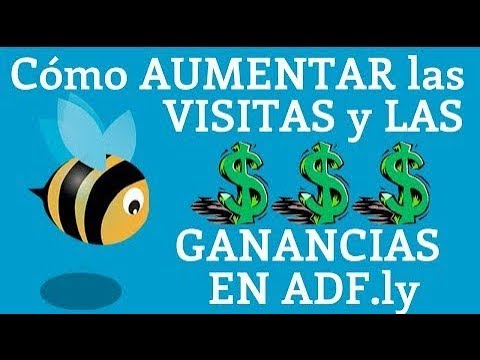 MIL VISITAS DIARIAS EN Adfly (boot) Gana Dinero para Paypal