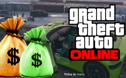 MISION PARA GANAR DINERO GTA 5 ONLINE, funny moments gta v online