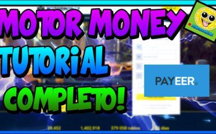 Motor Money Tutorial Completo! |GANA DINERO JUGANDO Y VIENDO ANUNCIOS |PAGOS INSTANTANEOS