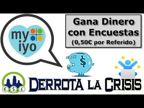 Myiyo, Ganar Dinero por Rellenar Encuestas desde Casa | 1€ y 4€ por Encuesta y 0,5€ por Referido