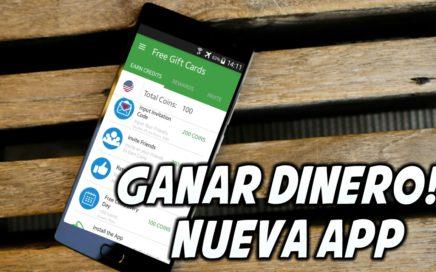Nueva App Ganar Dinero /Paypal, Amazon,Play Store Desde Android Abril 2017//TutosCarlos//