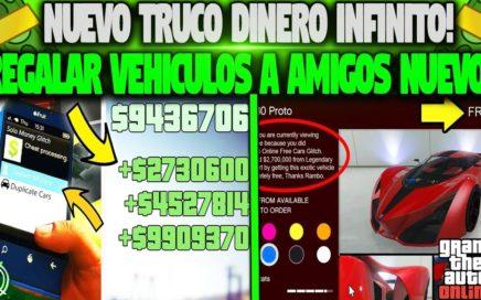 NUEVO! COMO TENER AUTOS GRATIS SUPER FACIL! GTA 5 1.41 REGALAR AUTOS A AMIGOS (PS4 XBOX ONE Y PC)