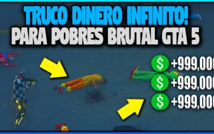 NUEVO DINERO INFINITO PARA POBRES Y RICOS BRUTAL! GTA 5 1.41 SERAS MILLONARIO SI HACES ESTO!
