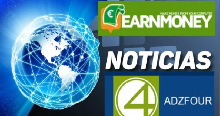 NUEVO LANZAMIENTO , EARN MONEY NETWORK + ADZFOUR PAGO DE $22.00 DÓLARES