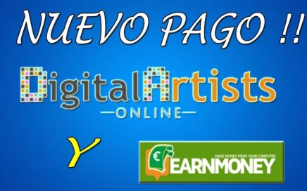 Nuevos Pagos de Digital Artists Online y Earn Money Network | Gokustian