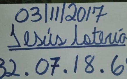 NÚMEROS PARA HOY 03/11/17 DE NOVIEMBRE PARA TODAS LAS LOTERIAS ¡¡¡ COMPÁRTELO CON TUS AMIGOS !!!