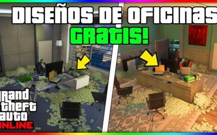 """OMG!! TENER DISEÑOS DE LA OFICINA GRATIS EN """"GTA V ONLINE 1.41"""" SOLO!!"""