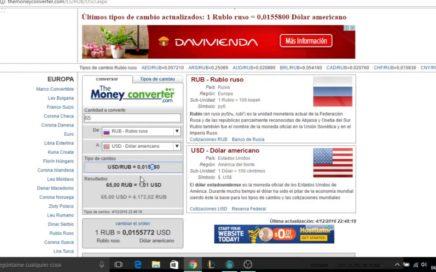PAGO DE 15 RUBLOS! 0.23$ RUCAPTCHA GANAR DINERO FACIL!
