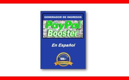 Paypal Booster | Como Ganar Dinero Para Paypal En Automatico