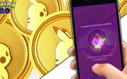 Pokemon GO || COMO CONSEGUIR EL MAXIMO DE POKEMONEDAS en la Nueva Actualizacion de Gimnasios