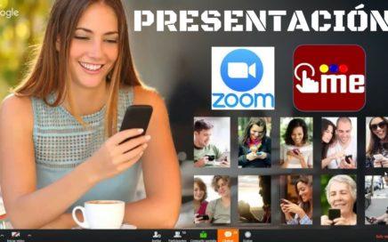 Presentacion de Clickeame por Zoom