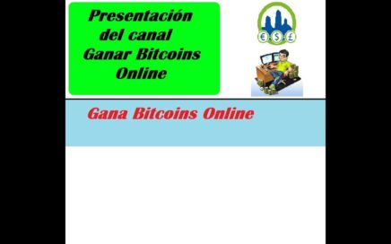 Presentación del canal de como Ganar dinero gratis con derrota la Crisis | Ganar Bitcoins Online