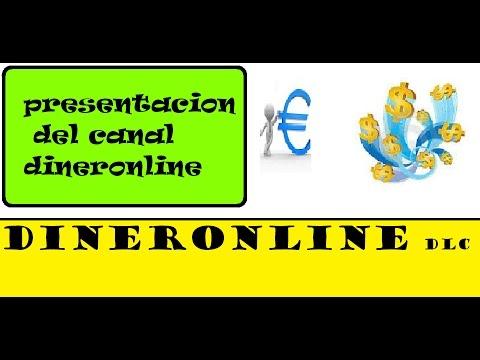 presentacion del canal dinero online como ganar dinero gratis con derrota la crisis,dinronline