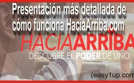 Presentación más detallada de cómo funciona HaciaArriba.com