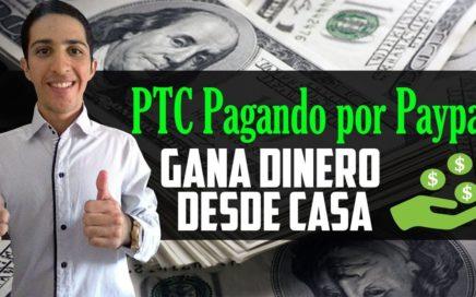 PTC pagando por Paypal [Gana dinero desde Casa] Mínimo de Retiro solo 1$, Pagina Veterana 2010