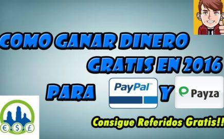 ¿Que Es Ganancias Online?: Como Ganar Dinero Por Internet Para Paypal | ¡Consigue Referidos GRATIS!