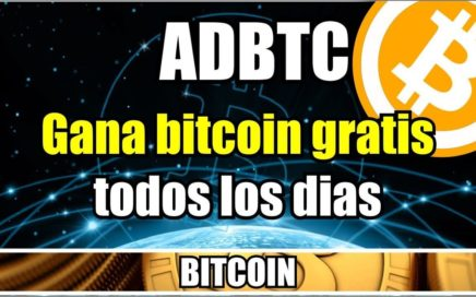 Registrarse en Adbtc | Ganar bitcoins por internet | prueba de pago