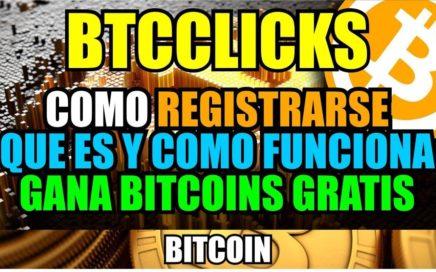 Registrarse en Btcclicks | Ganar bitcoins gratis | Prueba de Pago