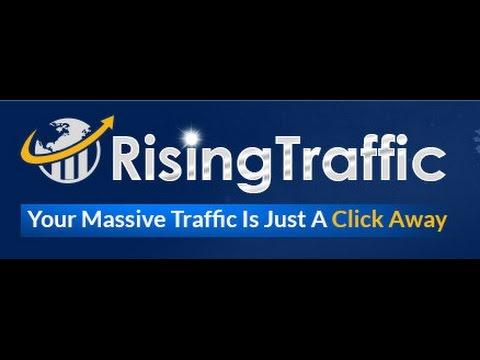 Rising Traffic   Ganar Dinero Rapido    Pre Lanzamiento - Ganar Dolares Facil