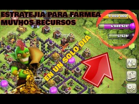 ROBA 10 MILLONES DE ORO Y ELIXIR AL DIA!!! - Estrategia Clash of Clan