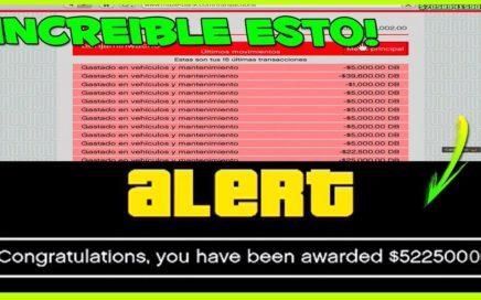 ¡ROCKSTAR VA A REGALAR DINERO A TODOS SUS JUGADORES DE GTA 5 ONLINE! *HAZLO RÁPIDO Y CONSIGUELO*