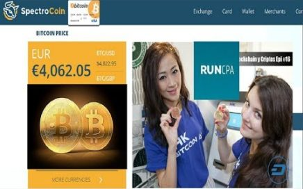 RUNCPA Spectrocoin  | Gana Dinero desde casa $100,00 al dia con CPA