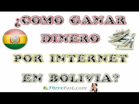 Se puede ganar dinero por internet en Bolivia