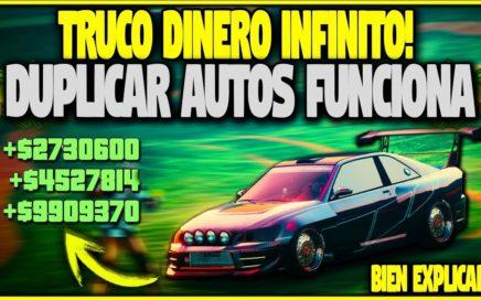 SERAS MILLONARIO SI HACES ESTE TRUCO! GTA 5 1.41 ONLINE DINERO INFINITO DUPLICAR AUTOS *FUNCIONA*