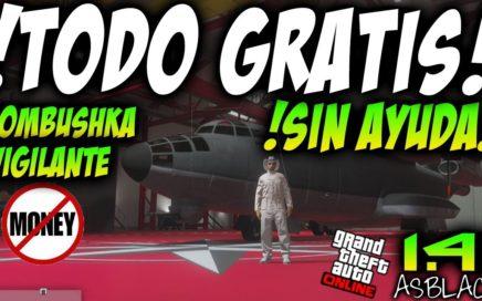 "!SIN AYUDA! - TODO GRATIS - GTAV Online 1.41 - ""BOMBUSHKA"" AVIONES GRATIS - SOLOS  - (PS4 - XBOX)"