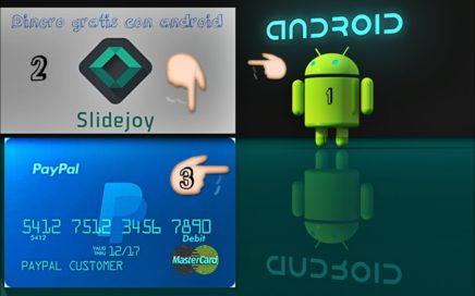 slidejoy Gana 100 UDS PayPal bloqueando tu pantalla