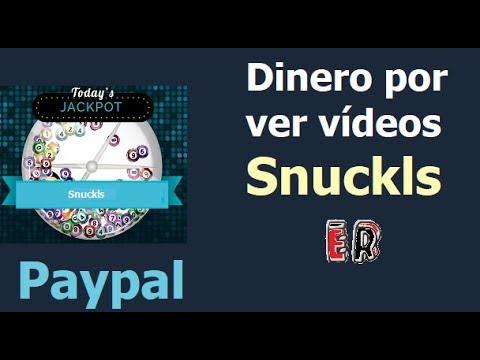 Snuckls   Gana dinero gratis viendo vídeos