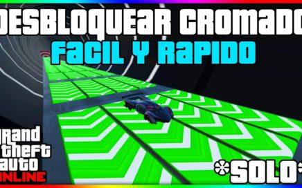 SOLO SIN AYUDA!! DESBLOQUEAR COLOR CROMADO EN AUTOS FACIL Y RAPIDO!! GTA V ONLINE 1.41