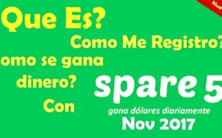 Spare5 que es?  Registro y como se gana dinero ? en esta web