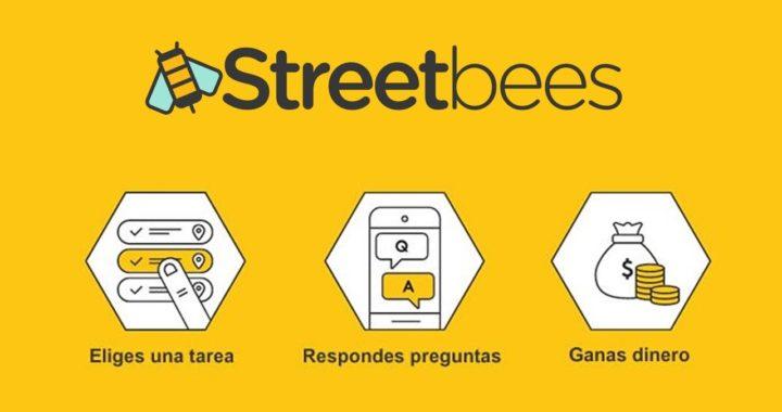 STREETBEES -  Gana dinero con encuestas y tareas simples