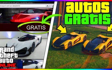 """*SUPER FACIL* CONSEGUIR CUALQUIER AUTO ¡GRATIS! EN """"GTA V ONLINE 1.41"""" DINERO INFINITO BRUTAL!"""