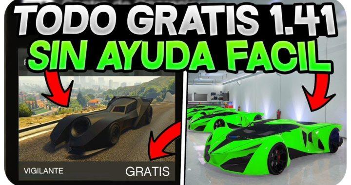 ¡TENER TODO GTA 5 ONLINE GRATIS SIN AYUDA Y FÁCIL! *GTA 5 ONLINE 1.41*