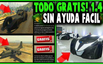 ¡TENER TODO GTA 5 ONLINE GRATIS SIN AYUDA Y FÁCIL! | GTA 5 ONLINE 1.41*(PS4 XBOX ONE Y PC) FUNCIONA!
