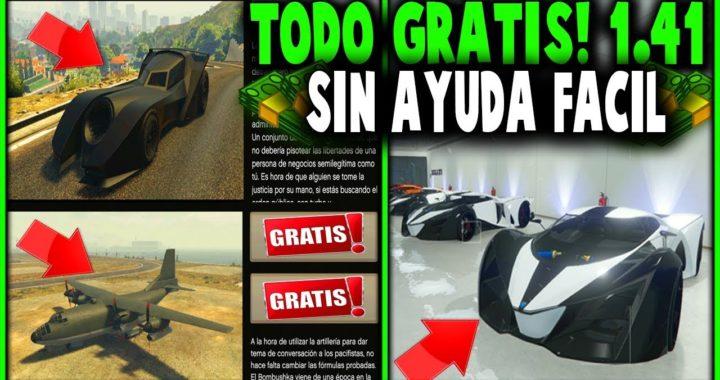 ¡TENER TODO GTA 5 ONLINE GRATIS SIN AYUDA Y FÁCIL!   GTA 5 ONLINE 1.41*(PS4 XBOX ONE Y PC) FUNCIONA!