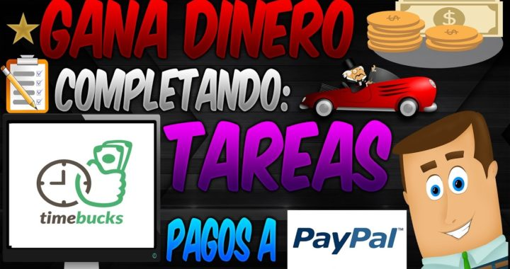 TimeBucks Gana Dinero con Tareas, Juegos, Selfies, Ofertas, Encuestas, Videos | Dinero Online