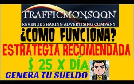 TrafficMonsoon ¿Qué es y cómo funciona? | Trafficmonsoon 2015 | Como Ganar Dinero Para PayPal