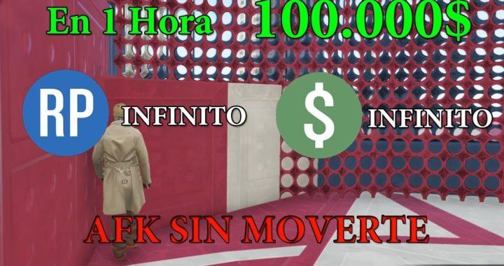 TRUCAZO AFK GANA 100 000$ EN UNA HORA GTA V ONLINE 1.41
