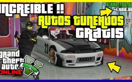 """TRUCO COMO CONSEGUIR AUTOS GRATIS !! INCREIBLE !! """"GTA V ONLINE"""" [ PS4 - XBOX ONE -PC ]"""