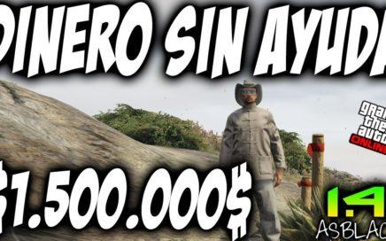 TRUCO DINERO INFINITO SIN ESPERAS - GTAV Online 1.41 - GANAR $1.500.000$ SIN AYUDA