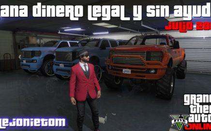Truco Ganar Dinero Facil y Legal En GTA 5 Para PS4 Julio 2017