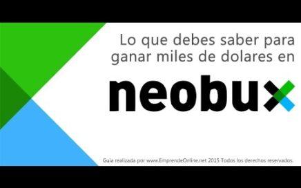 TRUCO NEOBUX! HASTA $50 dolares diario (ganar dinero por internet)7 marzo 2017