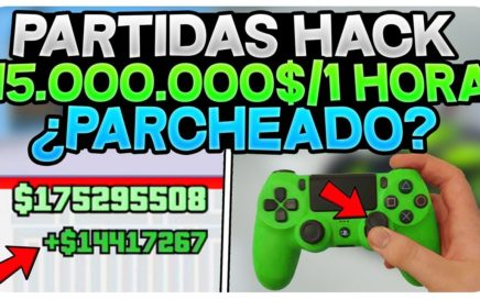 TRUCO PARTIDAS HACK DINERO INFINITO +10.000$ POR SEG! *INFORMACIÓN* ¿PARCHEADO?