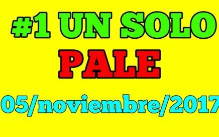 *un solo pale * para hoy domingo 5/11/2017