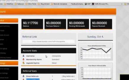 VIDEO 3: BUXEPT | Alquiler de referidos BUXEPT | Ganar Dinero Online
